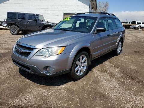 2009 Subaru Outback for sale at HORSEPOWER AUTO BROKERS in Fort Collins CO