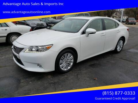 2014 Lexus ES 350 for sale at Advantage Auto Sales & Imports Inc in Loves Park IL