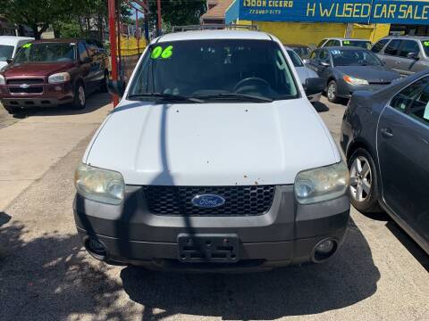 2006 Ford Escape Hybrid for sale at HW Used Car Sales LTD in Chicago IL
