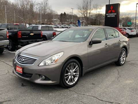 2013 Infiniti G37 Sedan for sale at Midstate Auto Group in Auburn MA