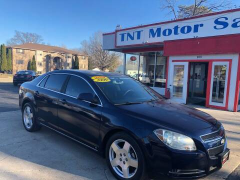 2009 Chevrolet Malibu for sale at TNT Motor Sales in Oregon IL