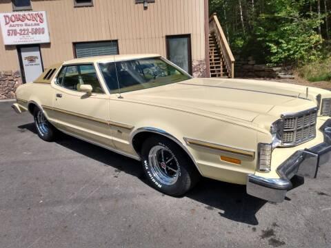 1976 Ford Torino for sale at DORSON'S AUTO SALES in Clifford PA