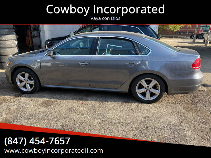 2014 Volkswagen Passat for sale at Cowboy Incorporated in Waukegan IL