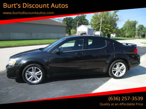 2011 Dodge Avenger for sale at Burt's Discount Autos in Pacific MO