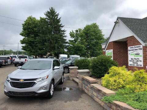 2020 Chevrolet Equinox for sale at Direct Sales & Leasing in Youngstown OH
