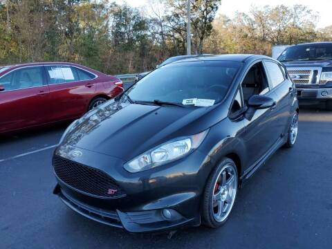 2014 Ford Fiesta for sale at Gulf Financial Solutions Inc DBA GFS Autos in Panama City Beach FL