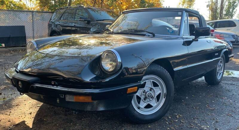 1986 Alfa Romeo Spider for sale at Cash For Cars Long Island - Used Cars For Sale in Lindenhurst NY