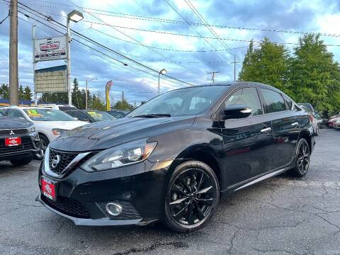 2016 Nissan Sentra for sale at Real Deal Cars in Everett WA