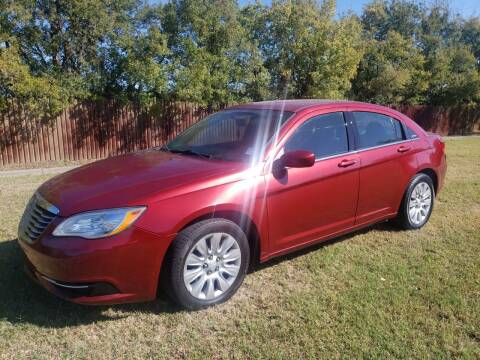 2012 Chrysler 200 for sale at El Jasho Motors in Grand Prairie TX