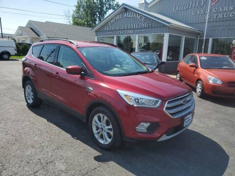 2017 Ford Escape for sale at Empire Alliance Inc. in West Coxsackie NY