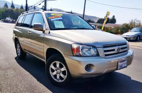 2006 Toyota Highlander for sale at Apollo Auto El Monte in El Monte CA