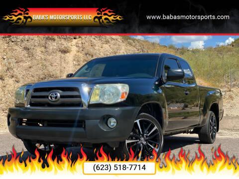 2011 Toyota Tacoma for sale at Baba's Motorsports, LLC in Phoenix AZ