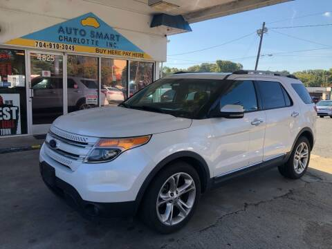 2012 Ford Explorer for sale at Auto Smart Charlotte in Charlotte NC