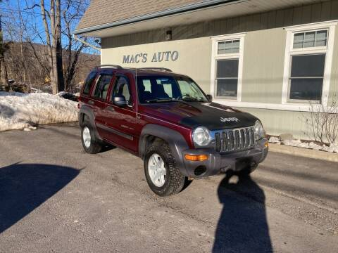 2002 Jeep Liberty for sale at MAC'S AUTO COMPANY in Nanticoke PA