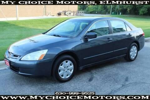 2004 Honda Accord for sale at My Choice Motors Elmhurst in Elmhurst IL