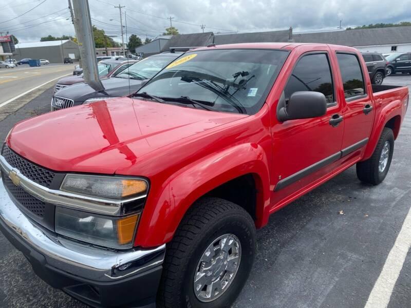 2008 Chevrolet Colorado for sale at Blue Bird Motors in Crossville TN