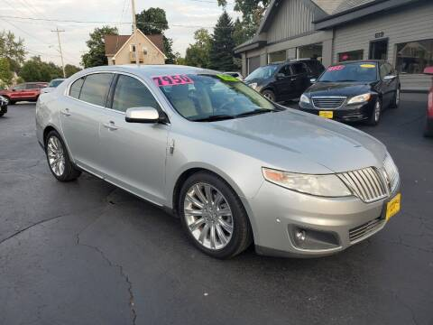 2010 Lincoln MKS for sale at AFFORDABLE AUTO, LLC in Green Bay WI