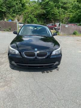 2009 BMW 5 Series for sale at ALAN SCOTT AUTO REPAIR in Brattleboro VT