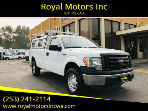 2011 Ford F-150 for sale at Royal Motors Inc in Kent WA