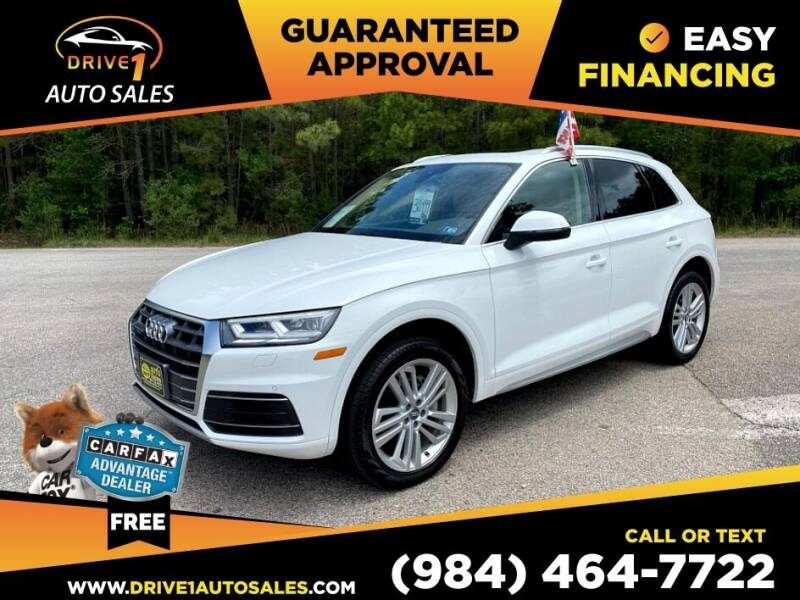 2018 Audi Q5 for sale at Drive 1 Auto Sales in Wake Forest NC