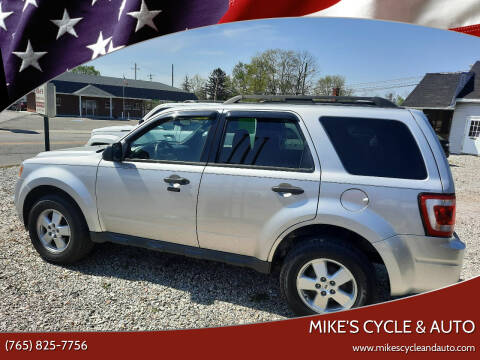 2011 Ford Escape for sale at MIKE'S CYCLE & AUTO - Mikes Cycle and Auto (Liberty) in Liberty IN