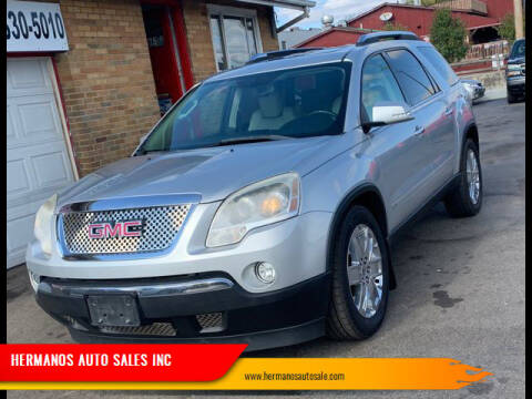 2010 GMC Acadia for sale at HERMANOS AUTO SALES INC in Hamilton OH