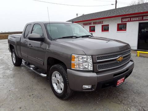 2012 Chevrolet Silverado 1500 for sale at Sarpy County Motors in Springfield NE