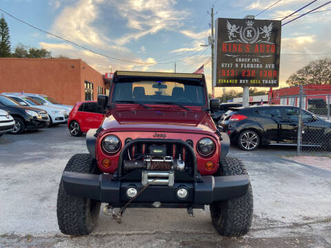 2013 Jeep Wrangler for sale at Kings Auto Group in Tampa FL