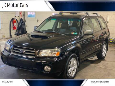 2005 Subaru Forester for sale at JK Motor Cars in Pittsburgh PA