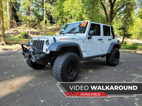 2015 Jeep Wrangler Unlimited for sale at McMinnville Auto Sales LLC in Mcminnville OR