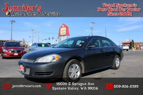 2013 Chevrolet Impala for sale at Jennifer's Auto Sales in Spokane Valley WA