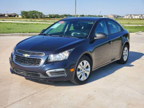 2015 Chevrolet Cruze for sale at Chihuahua Auto Sales in Perryton TX