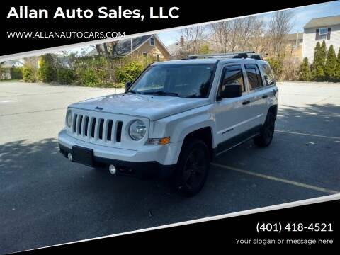 2011 Jeep Patriot for sale at Allan Auto Sales, LLC in Fall River MA