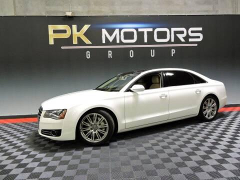 2012 Audi A8 L for sale at PK MOTORS GROUP in Las Vegas NV