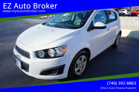 2016 Chevrolet Sonic for sale at EZ Auto Broker in Mount Vernon OH