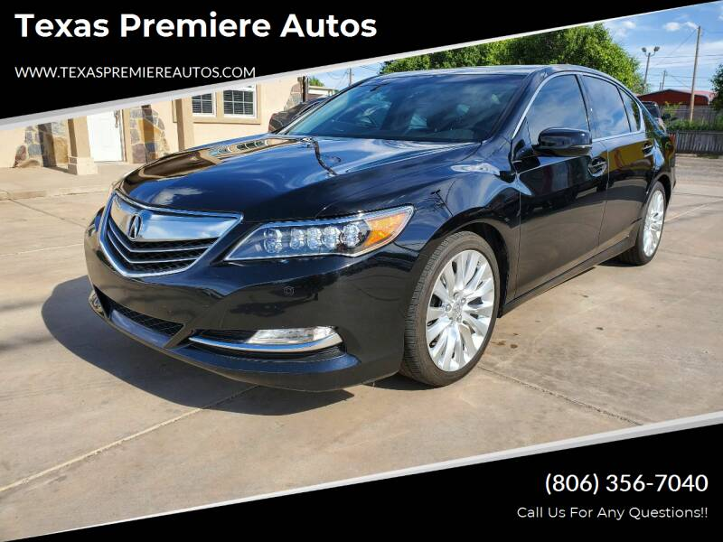 2014 Acura RLX for sale at Texas Premiere Autos in Amarillo TX