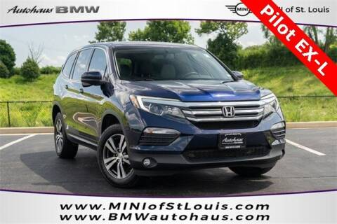2018 Honda Pilot for sale at Autohaus Group of St. Louis MO - 40 Sunnen Drive Lot in Saint Louis MO