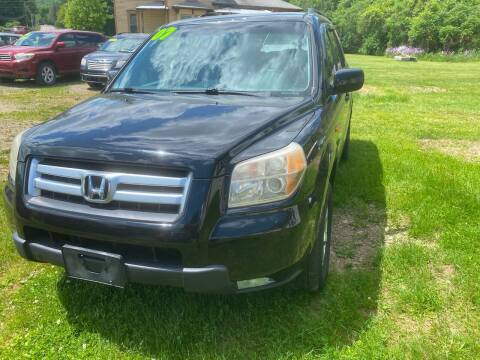 2007 Honda Pilot for sale at Richard C Peck Auto Sales in Wellsville NY
