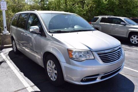 2012 Chrysler Town and Country for sale at BOB ROHRMAN FORT WAYNE TOYOTA in Fort Wayne IN