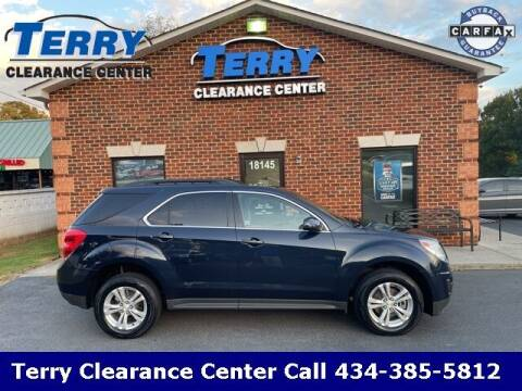 2015 Chevrolet Equinox for sale at Terry Clearance Center in Lynchburg VA