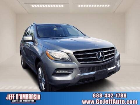 2013 Mercedes-Benz M-Class for sale at Jeff D'Ambrosio Auto Group in Downingtown PA