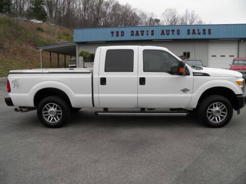 2014 Ford F-250 Super Duty for sale at Ted Davis Auto Sales in Riverton WV