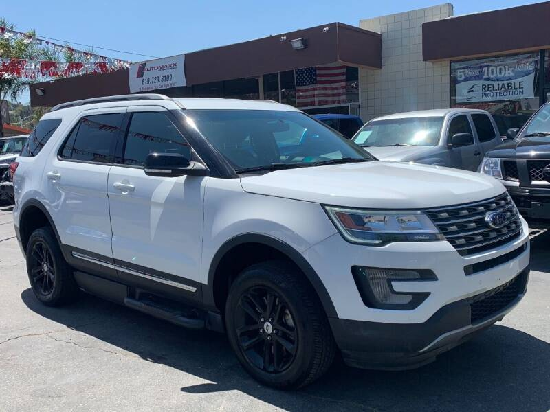 2017 Ford Explorer for sale at Automaxx Of San Diego in Spring Valley CA