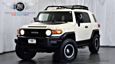 2010 Toyota FJ Cruiser for sale at ZONE MOTORS in Addison IL