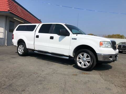 2007 Ford F-150 for sale at BOARDWALK MOTOR COMPANY in Fairfield CA