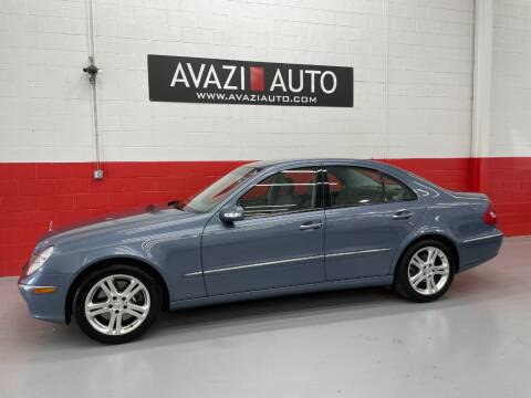 2004 Mercedes-Benz E-Class for sale at AVAZI AUTO GROUP LLC in Gaithersburg MD