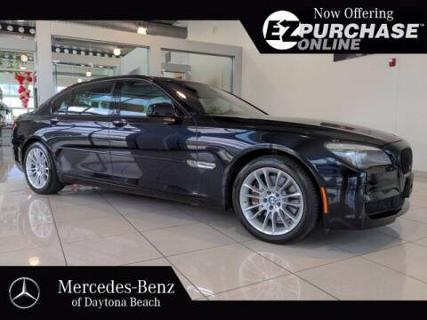 2012 BMW 7 Series for sale at Mercedes-Benz of Daytona Beach in Daytona Beach FL