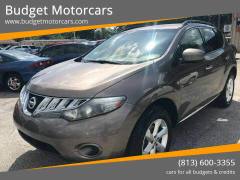2009 Nissan Murano for sale at Budget Motorcars in Tampa FL