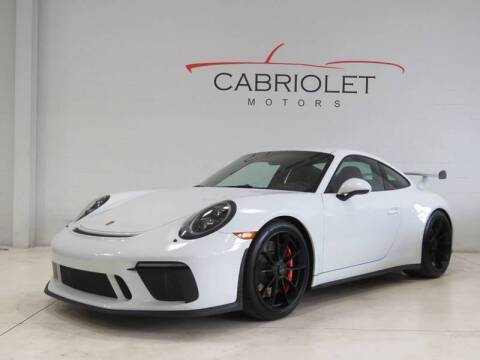2018 Porsche 911 for sale at Cabriolet Motors in Morrisville NC