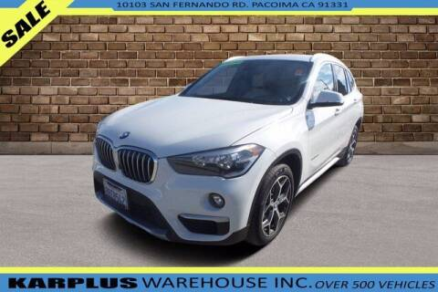 2018 BMW X1 for sale at Karplus Warehouse in Pacoima CA